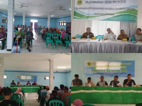 Musyawarah Perencanaan Pembangunan Desa (Musrenbangdes) Kecamatan Gunungputri