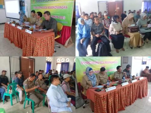 Musyawarah Perencanaan Pembangunan Desa (Musrenbang Desa) Bojongnangka Kecamatan Gunungputri