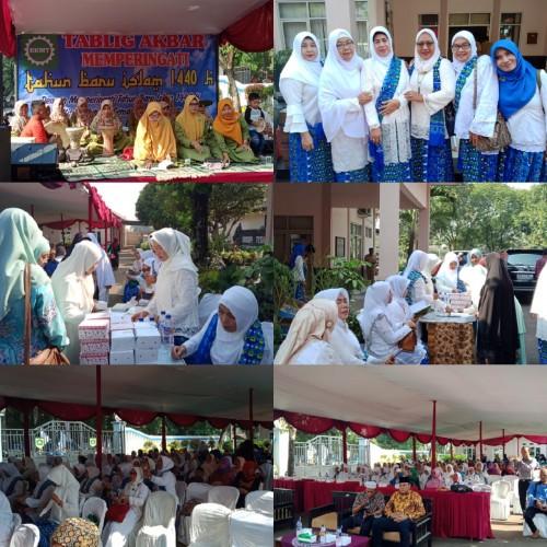 Tablig Akbar BKMT Kecamatan Gunungputri Memperingati Tahun Baru Islam 1440 H